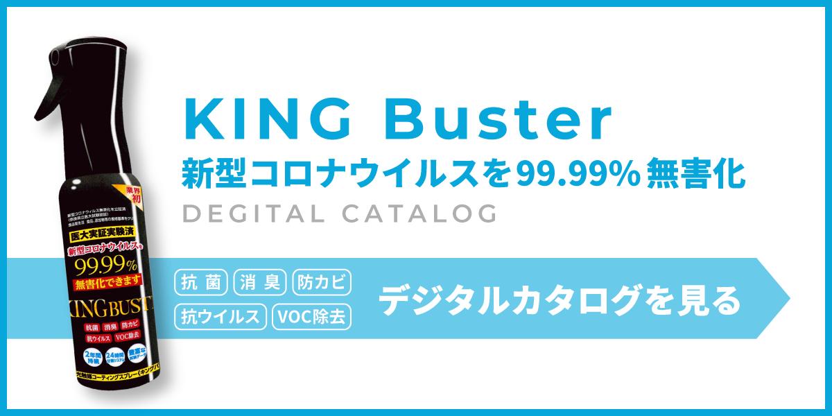 KING Busterデジタルカタログバナー